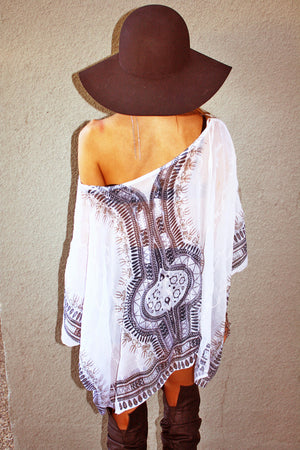 WHITE TUNIC - Haute & Rebellious