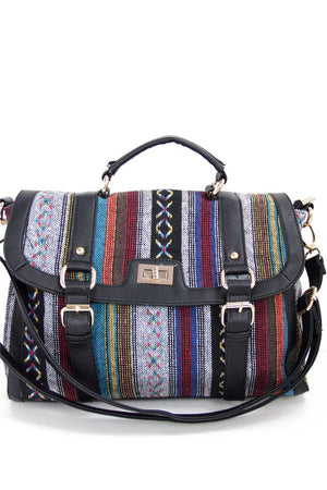 NATIVA MESSENGER BAG - black - Haute & Rebellious