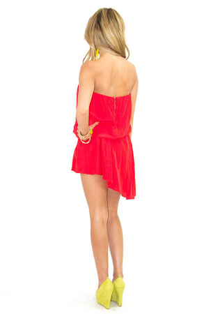 PENELOPE DRESS - Red - Haute & Rebellious