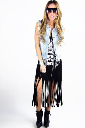 FRINGED TUNIC - Haute & Rebellious