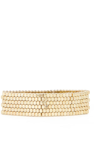 SOLID BRACELET - gold - Haute & Rebellious