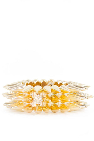 STUDED BRACELET - Gold - Haute & Rebellious