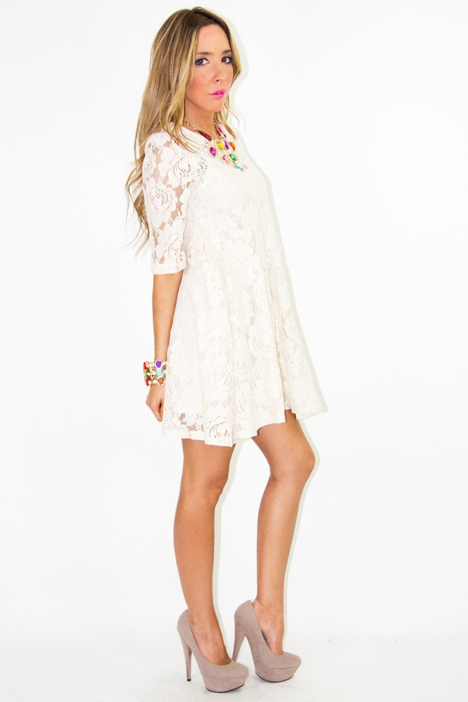 BRITNEY LACE DRESS