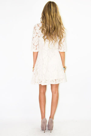 BRITNEY LACE DRESS - Haute & Rebellious