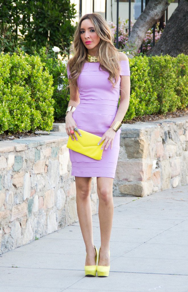 BANDAGE FRAY MINI DRESS - Purple