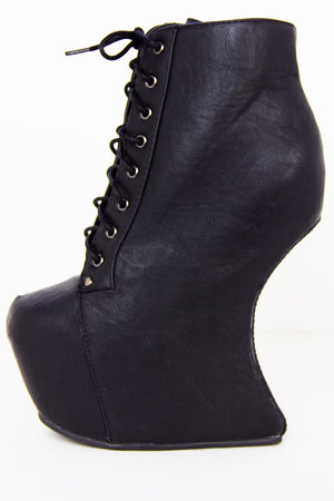 ZOE HEELLESS - Black - Haute & Rebellious