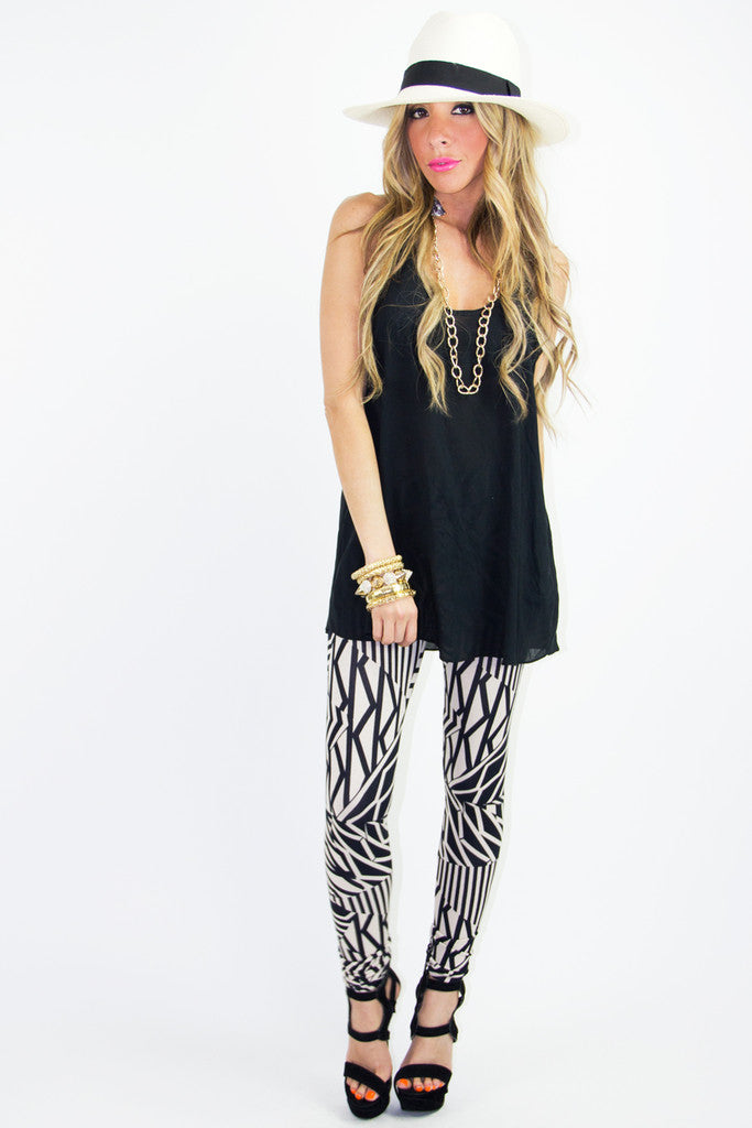 ZOE PRINT LEGGINGS
