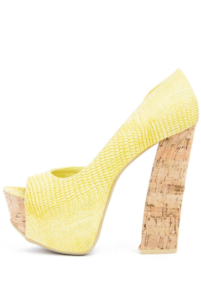 HAILEY PLATFORM - Yellow