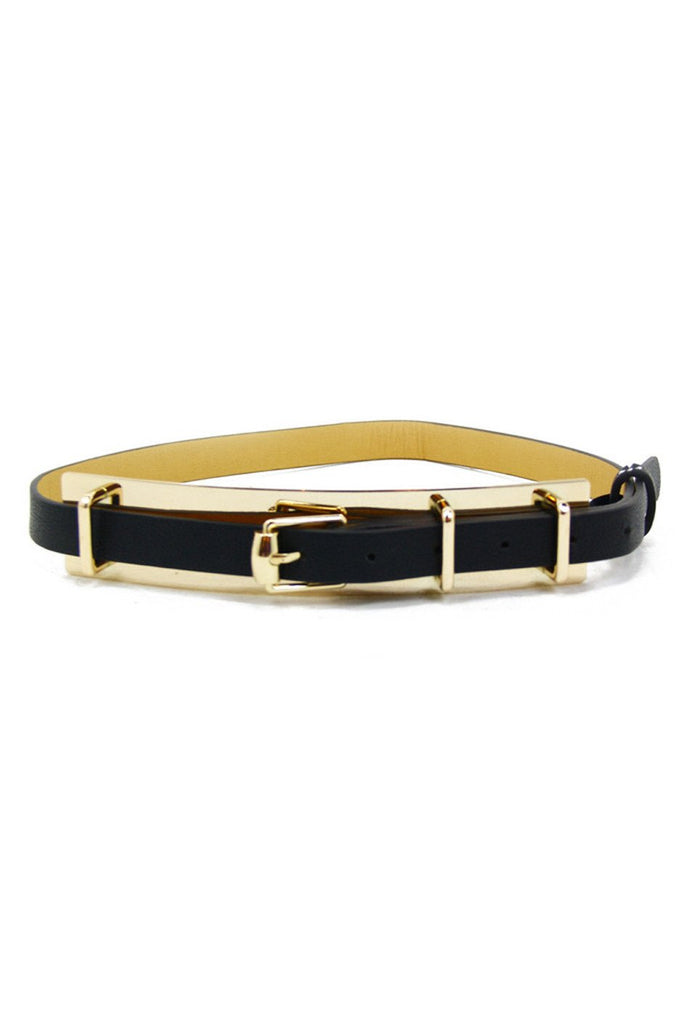 GOLD PLATED BELT - Haute & Rebellious