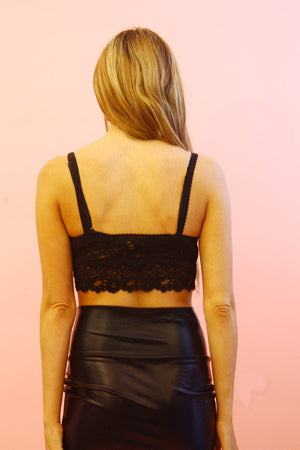 LACE BRALETTE - Black - Haute & Rebellious