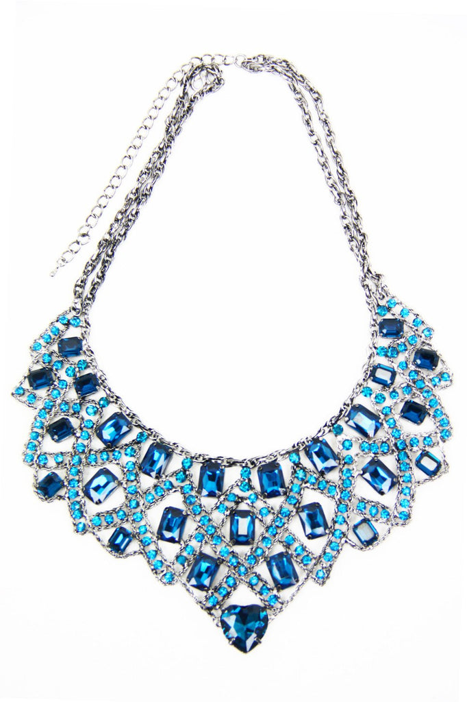 MEI GEM STONES NECKLACE