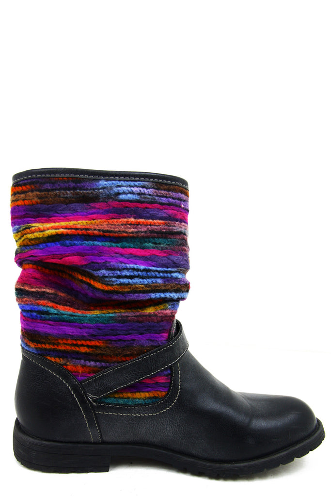 TRIBAL MULTI-COLOR COMBO BOOT