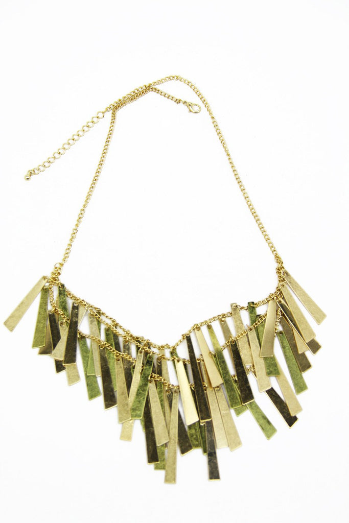 GOLD CONFETTI NECKLACE - Haute & Rebellious