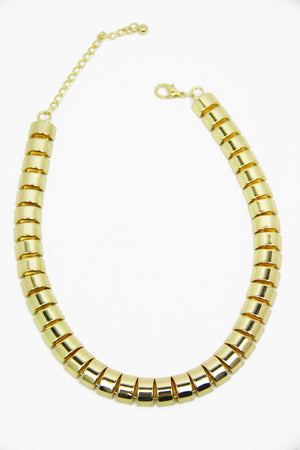 SNAKE CHAIN ROPE NECKLACE - Gold - Haute & Rebellious