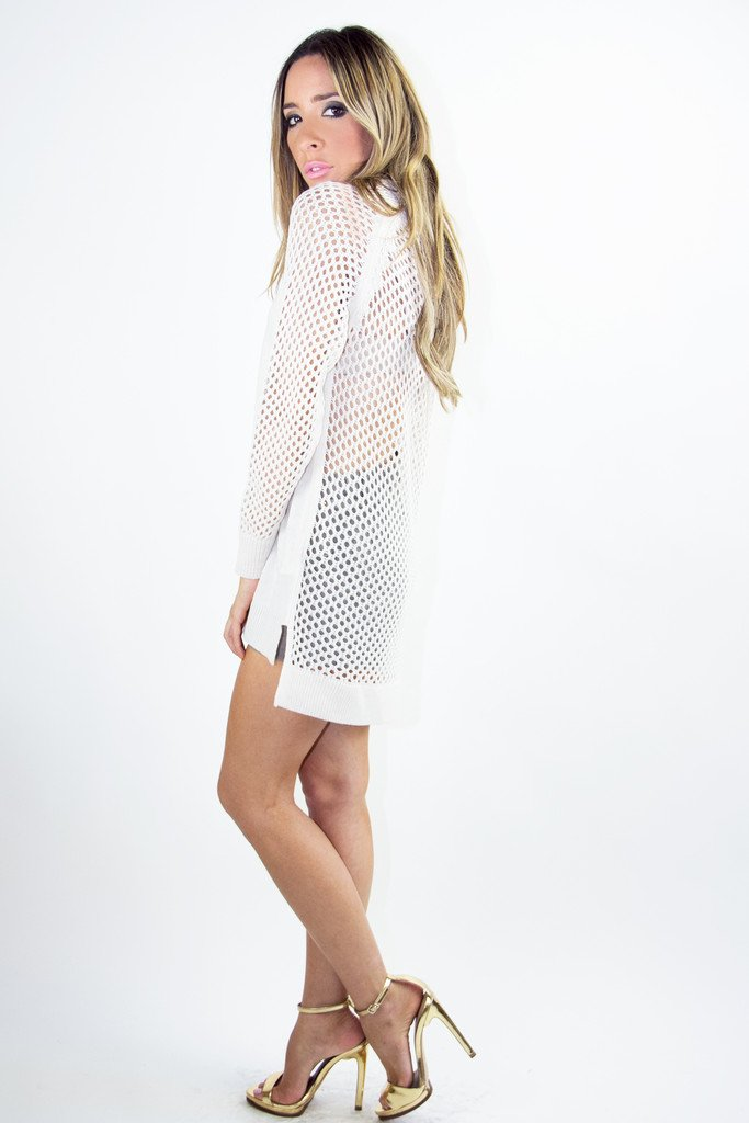 ADDISON SWEATER - Off White - Haute & Rebellious