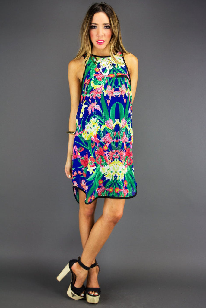 FLORAL DRESS - Haute & Rebellious