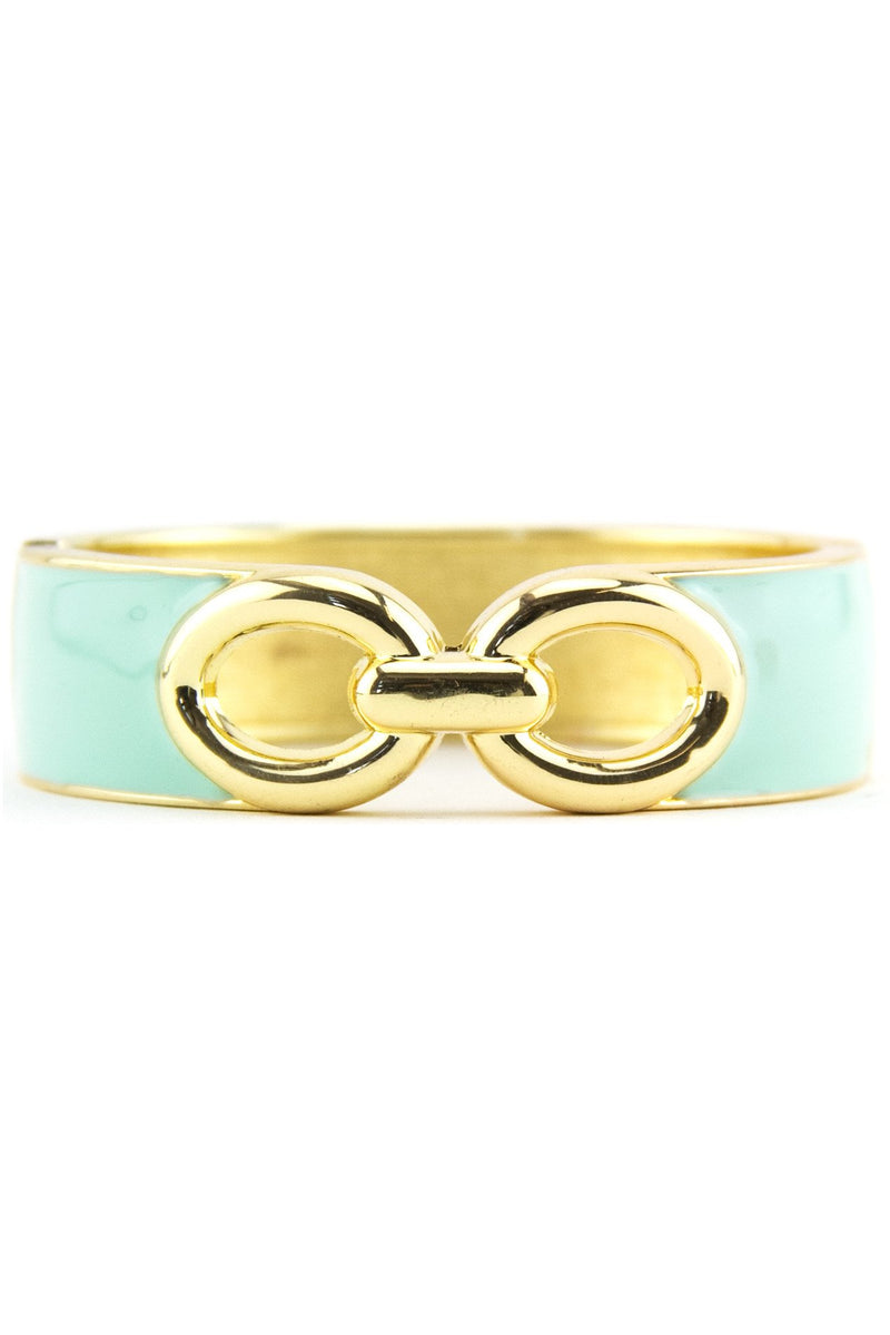 INTERLOCKING GEL BANGLE - Mint - Haute & Rebellious
