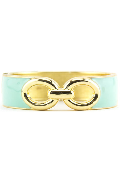 INTERLOCKING GEL BANGLE - Mint