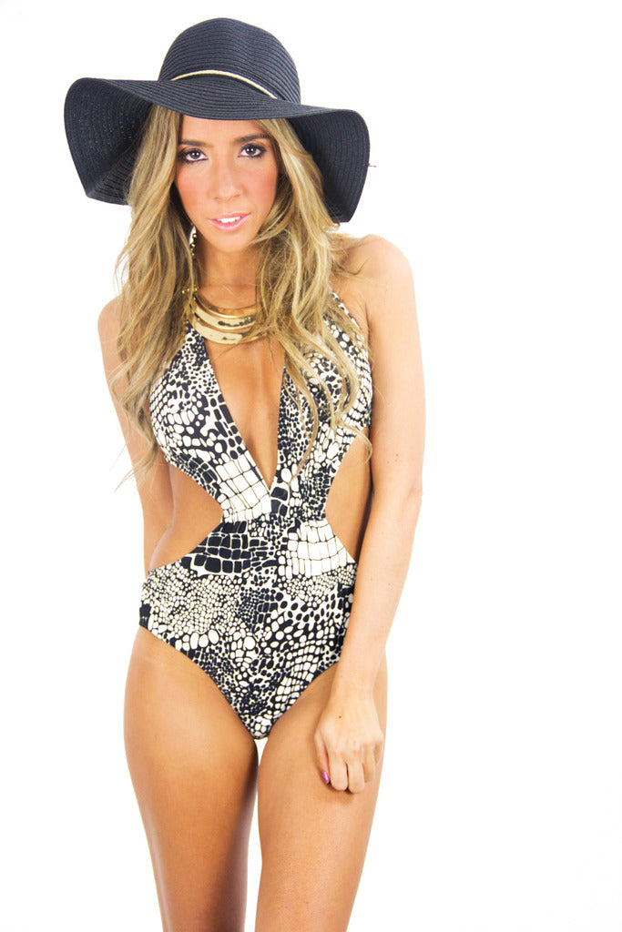 ONE PIECE PRINT MONOKINI - Haute & Rebellious