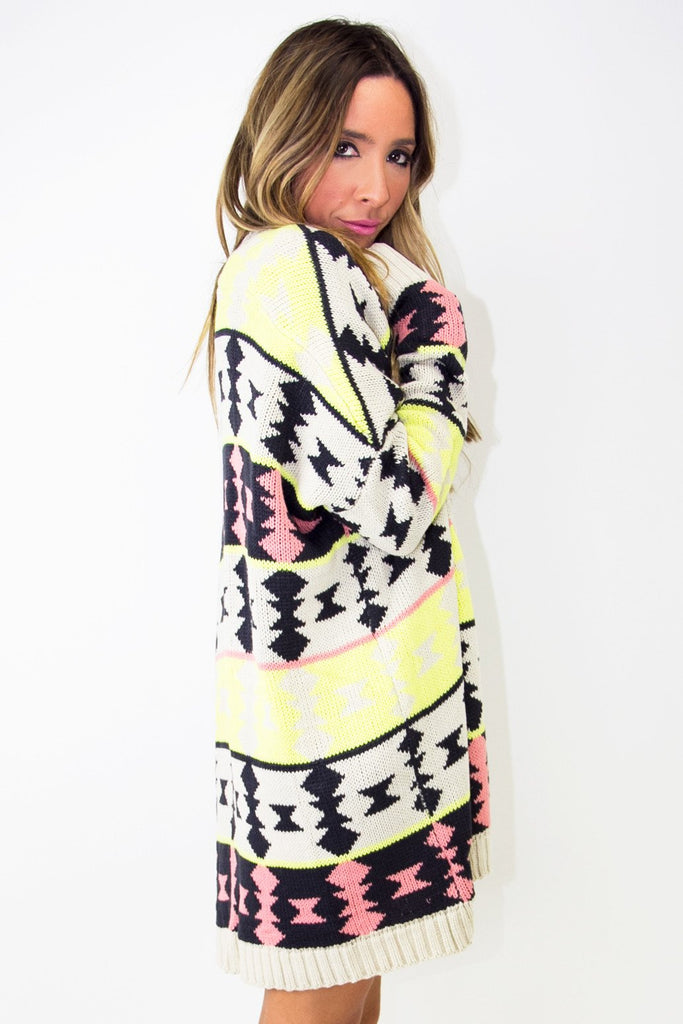 NEON DAKOTA SWEATER - Haute & Rebellious