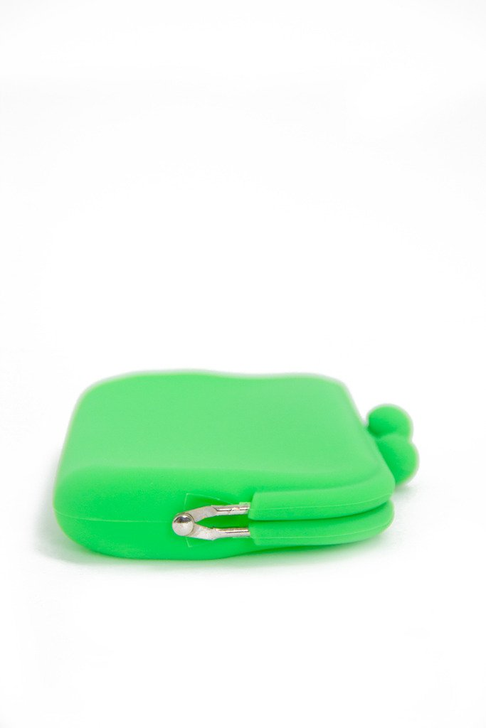 NEON PETITE RUBBER CLUTCH - Green - Haute & Rebellious