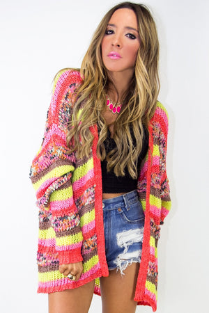 EVERETT MULTICOLOR KNIT SWEATER - Haute & Rebellious
