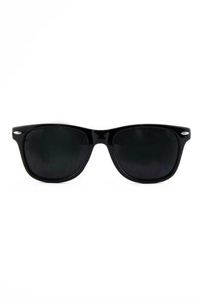 ROUNDED TOP WAYFARER - Black