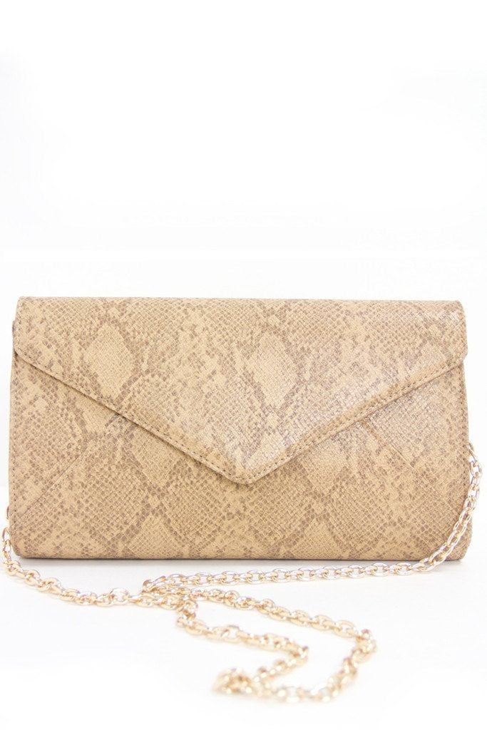 ANA BEIGE CHAIN BAG