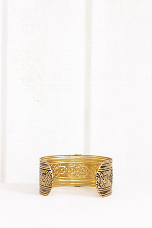 Laden Turq Stone Bracelet - Gold - Haute & Rebellious