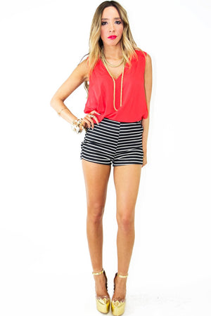 HIGH LOW TOP - Red - Haute & Rebellious