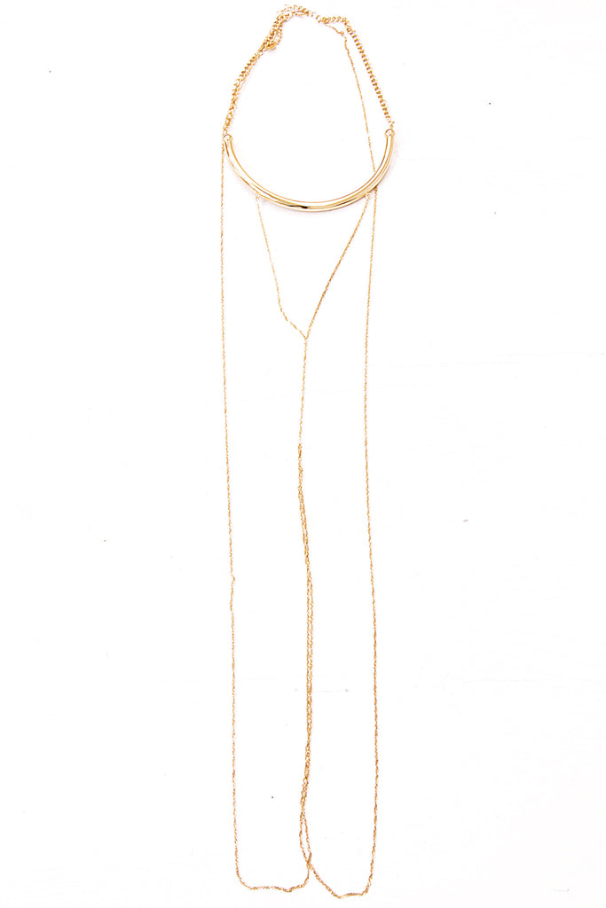 Sasha Plated Body Chain