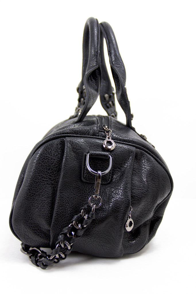 SKULL ROW BAG - Black