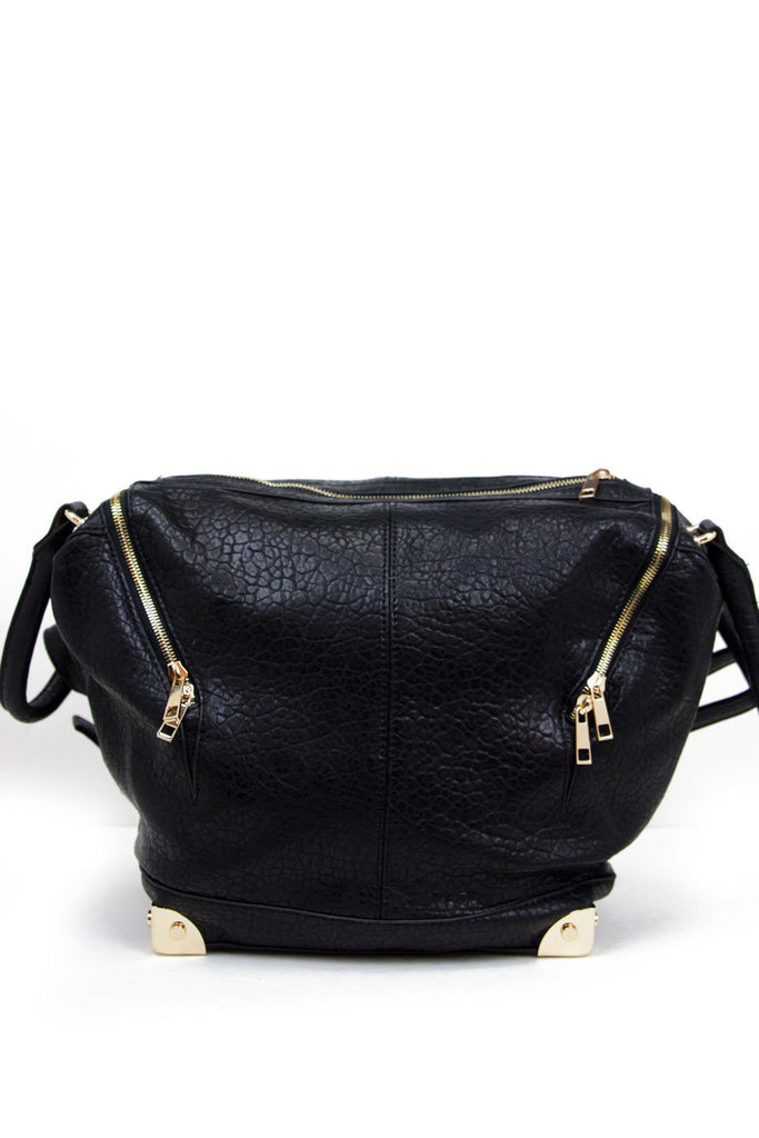 EMILE MEDIUM TOTE - Black