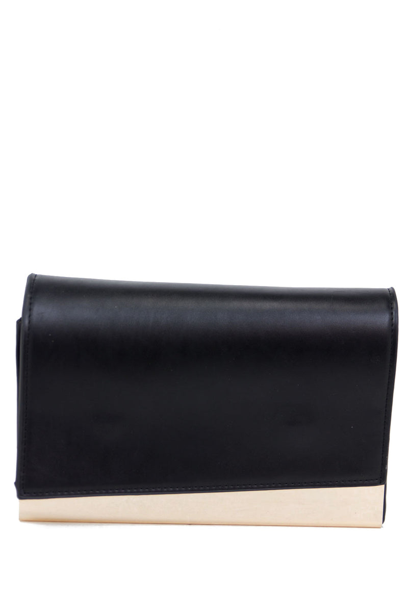 VINCE GOLD PLATED CLUTCH - Haute & Rebellious