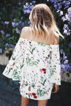 Coming After You Floral Tunic