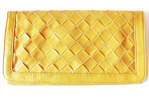 YELLOW ENVELOPE CLUTCH - Haute & Rebellious