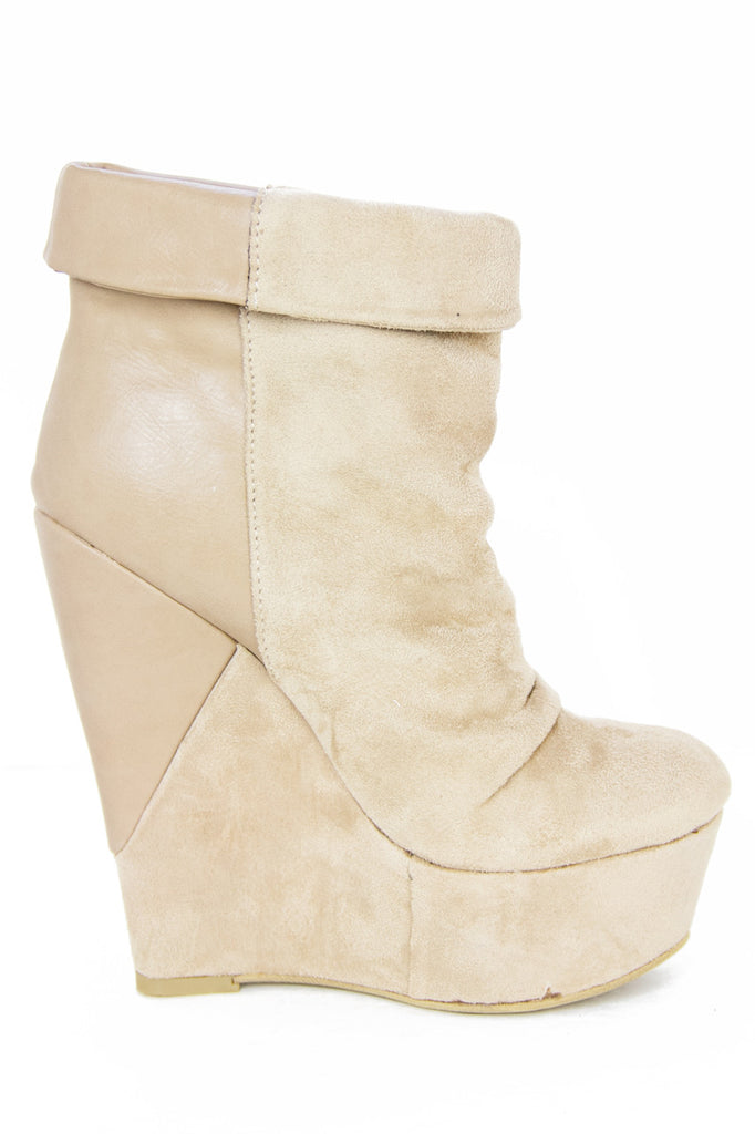 TALL WEDGE - Beige