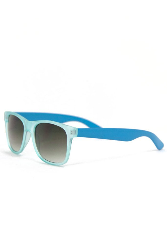 BABY BLUE & SEA BLUE SUNGLASSES (Final Sale) - Haute & Rebellious
