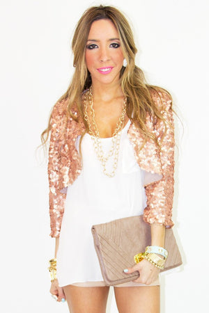 GOLD CHAIN NECKLACE - Haute & Rebellious