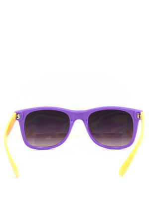 PURPLE AND YELLOW SUNGLASSES - Haute & Rebellious