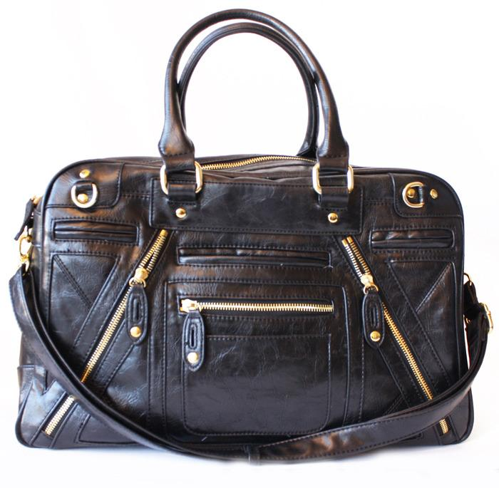 CHLOE TRAVEL BAG - Black - Haute & Rebellious