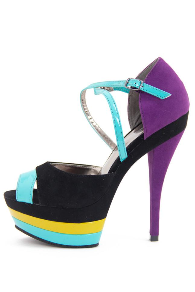 MULTICOLOR HEELS - Haute & Rebellious