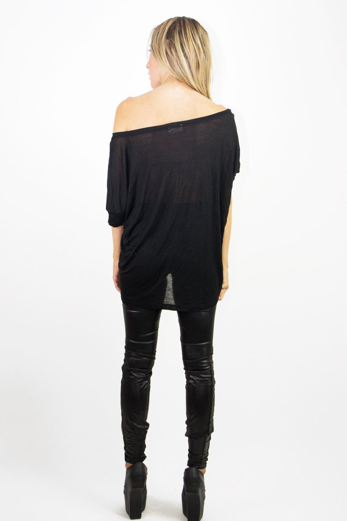 JACOB JERSEY TEE - Black