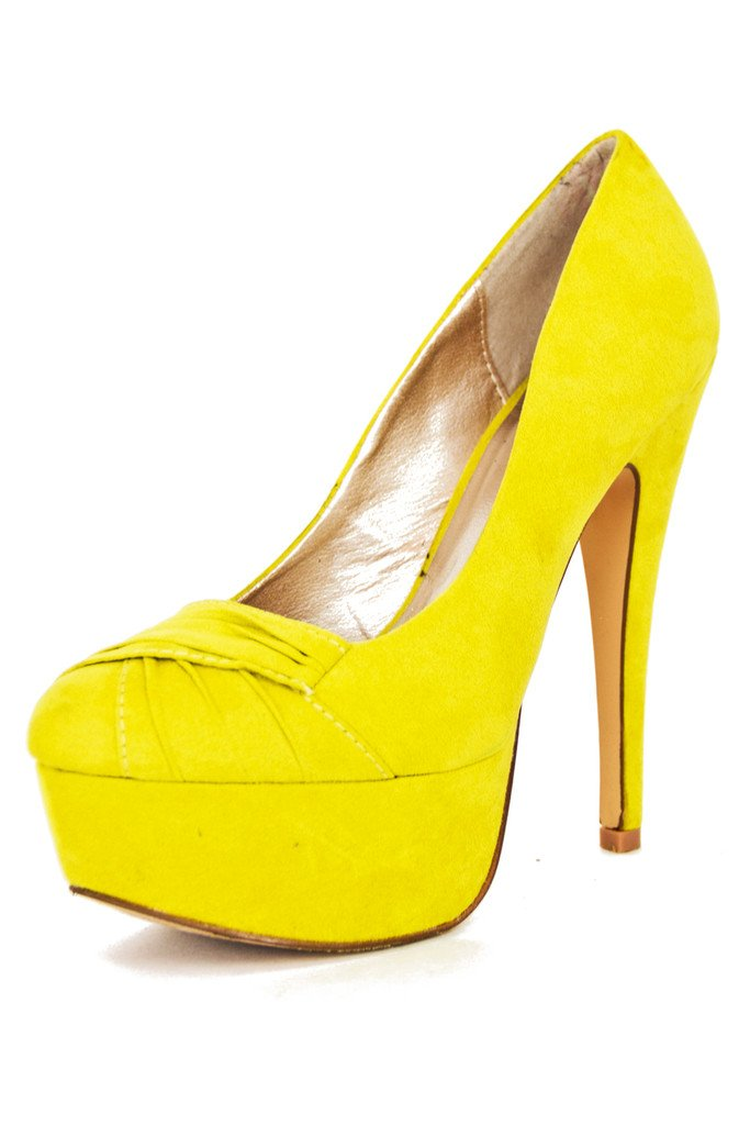 ELECTRIC YELLOW PUMPS- neon