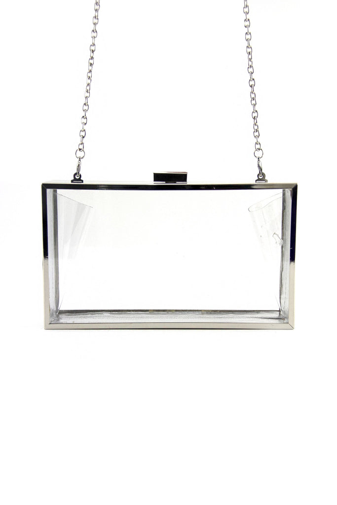 SEE-THROUGH CLUTCH - Clear