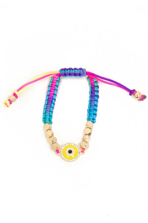 EYE PETITE BRACELET - multicolor - Haute & Rebellious