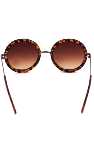 CIRCLE FRAME SILVER BRIDGE FRAMES - Tortoise Shell - Haute & Rebellious