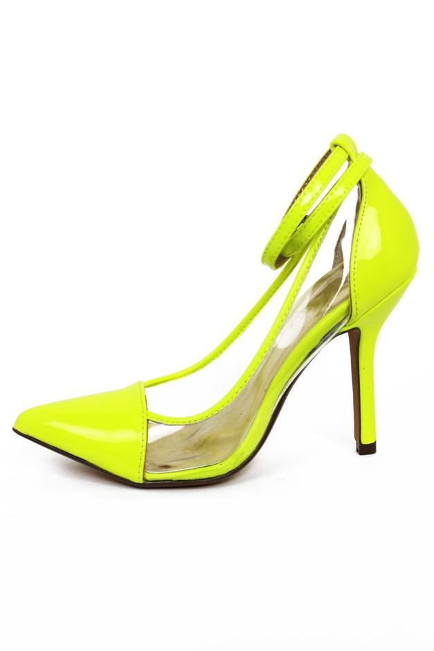 NEON & CLEAR DETAIL PUMP - Neon Lime