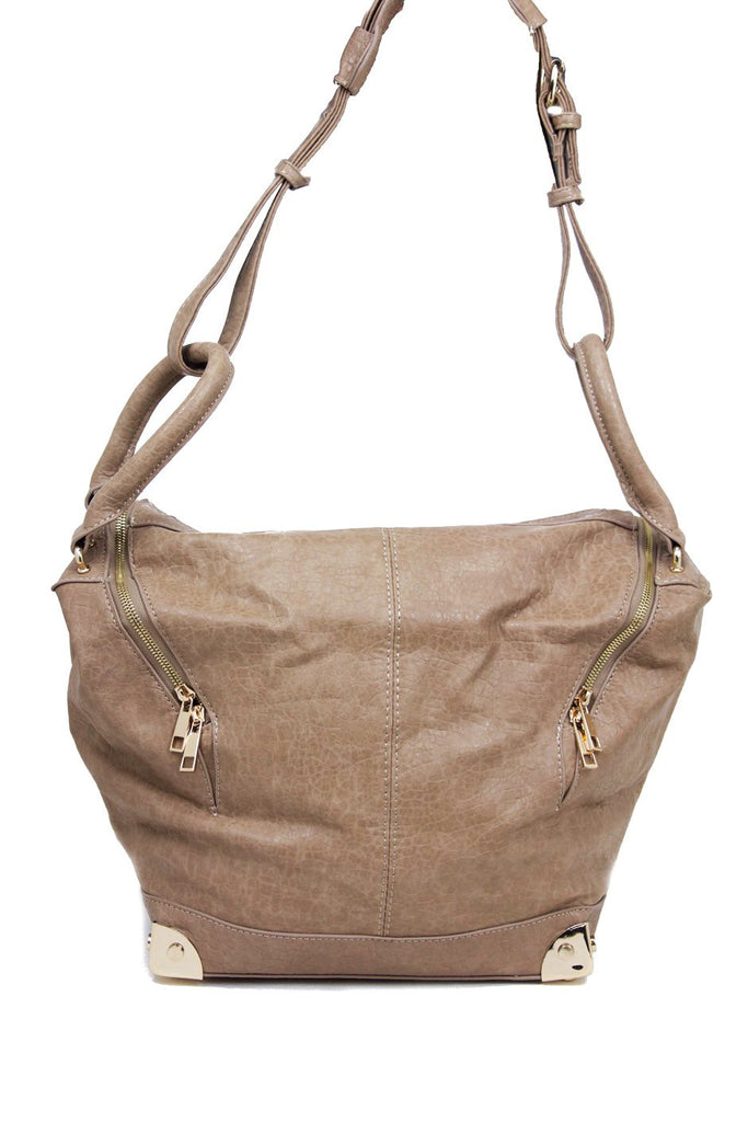 EMILE MEDIUM TOTE - Tan (Final Sale)