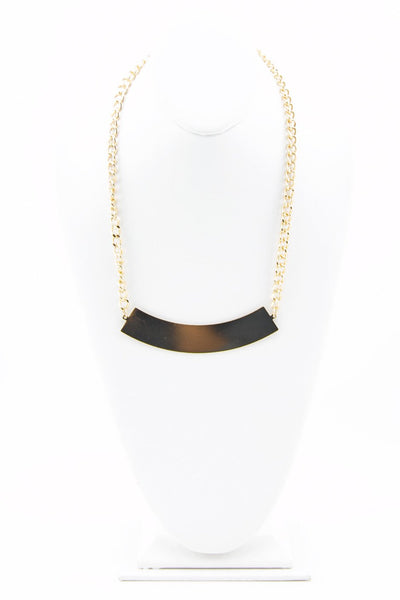 GOLD PLATED ARCH NECKLACE